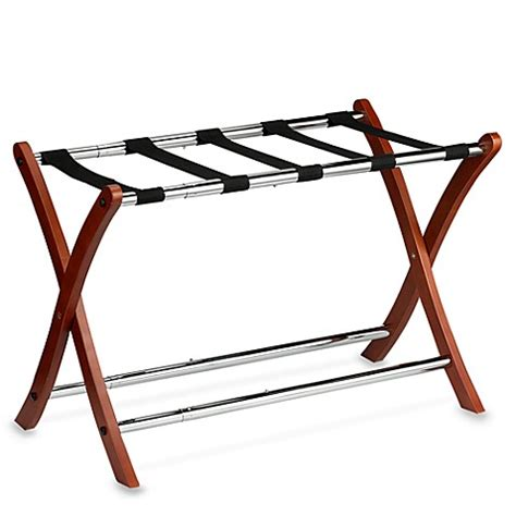 bed bath and beyond luggage rack expandable wooden luggage rack bed bath beyond