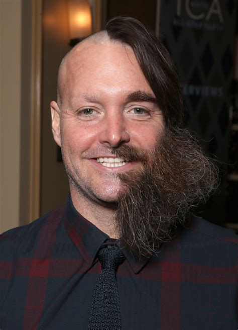 will forte sports half shaved head see the pics
