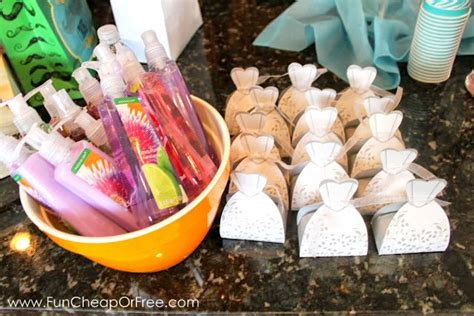 bridal shower gift ideas on a budget cheap or free bridal shower ideas favors decor and more cheap or free