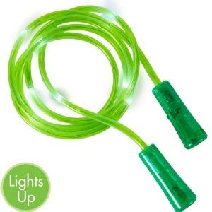 light up jump light up green jump 91in party city