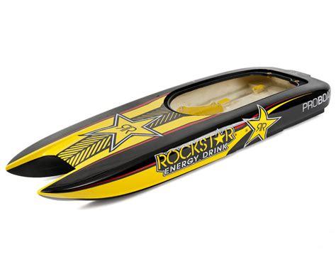 boat hull stickers pro boat rockstar hull decal set prb291000 boats