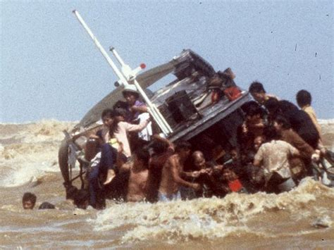 boat people facts syria crisis evokes vietnamese boat people column