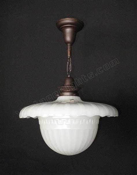 Antique Kitchen Lighting Fixtures Vintage Milk Glass Light Antique Kitchen Lighting Fixture