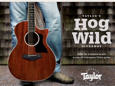 Taylor Guitar Sweepstakes - taylor guitars 2013 semi annual drawings sweepstakes