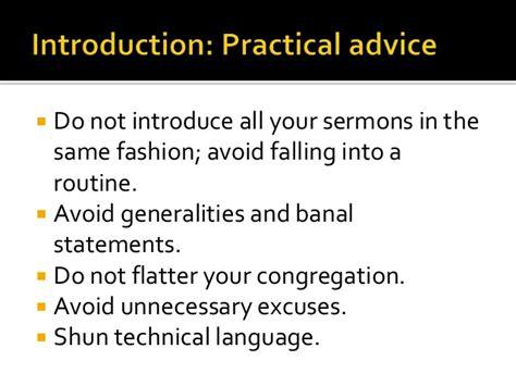 Fashioned Sermon Outlines by Basic Sermon Design The Sermon Outline