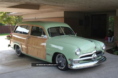 green station wagon with wood 1950 ford woody wood kit html autos post