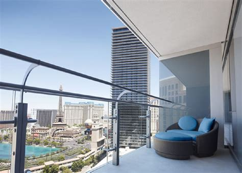 Terrace One Bedroom View by The Cosmopolitan Las Vegas Is Even Cooler On