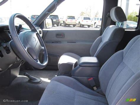 Toyota T100 Interior by 1997 Green Pearl Metallic Toyota T100 Truck Sr5