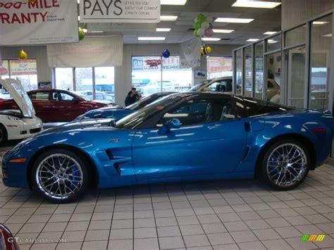 zr1 paint colors 2010 jetstream blue metallic chevrolet corvette zr1
