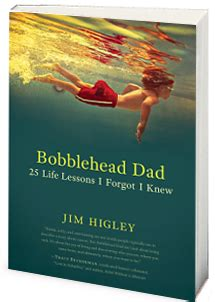 bobblehead books s day special with quot bobblehead quot jim higley