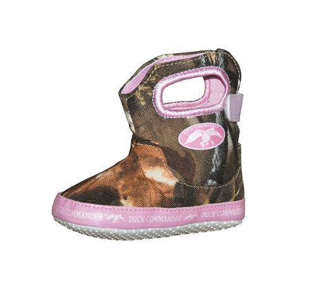jase s fowl weather camo pink baby boots shoes