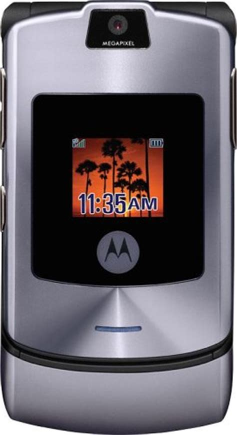 Motorolas Third Product Phone The V3i by Motorola Razr V3i Unlocked Phone With Mp3