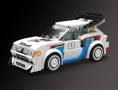 peugeot lego lego ideas product ideas peugeot 205 turbo 16 lego