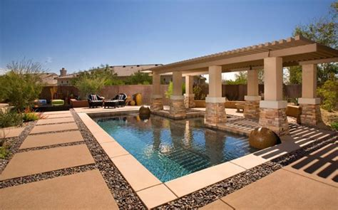 Backyard Day Scottsdale Modern Landscaping Scottsdale Az Photo Gallery