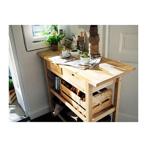 Wheeled Kitchen Island by Trolley De Cuisine En Bois Ikea 80 163 Neuf Vendu 35