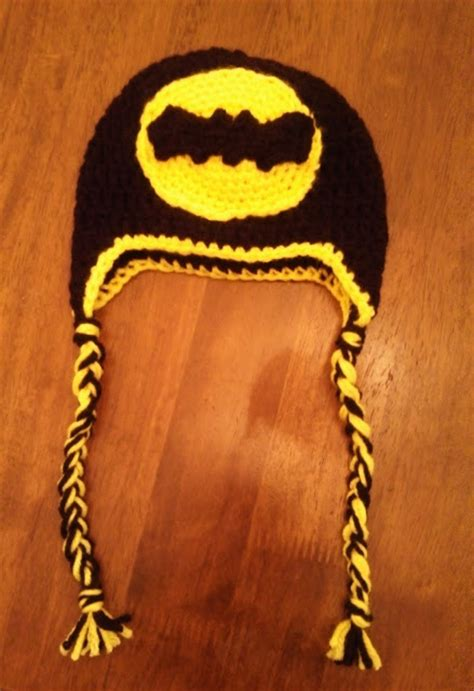 crochet pattern batman logo butterfly s creations batman logo beanies