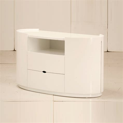 White Gloss Tv Stand Cabinet by Tv Stands For Bedroom In High Gloss White 9080