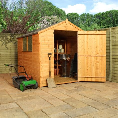 B And Q Plastic Sheds by Plastic Garden Sheds 8 X 6 Easy Garden Bench Wooden