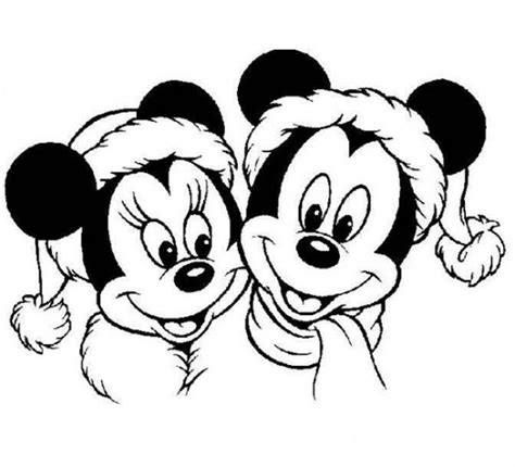 free minnie mouse christmas coloring pages minnie mouse christmas coloring pages coloring home