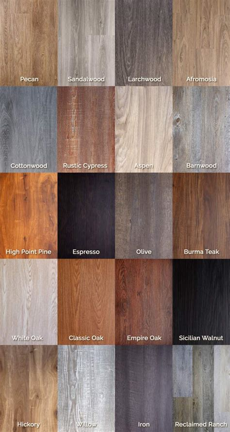 Click On Floors by Luxury Vinyl Flooring Wood Grain Planks Trident Click