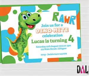 Free Dinosaur Templates by Dinosaur Invitations Printable Free Custom Invitations
