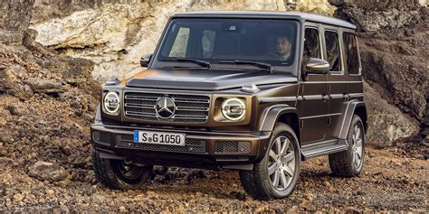 Mercedes G News by 2019 Mercedes G Class Revealed Photos