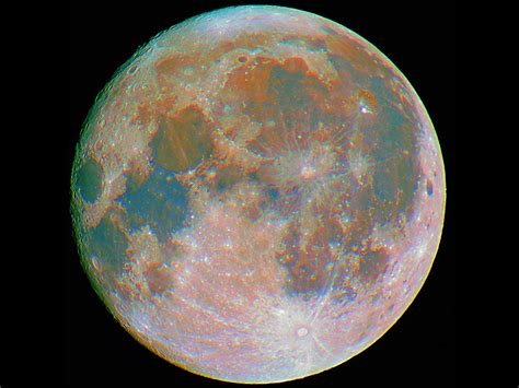 colorful moon wallpaper colorful moon