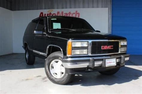 how can i learn about cars 1993 gmc suburban 2500 electronic throttle control 1993 gmc yukon cars for sale