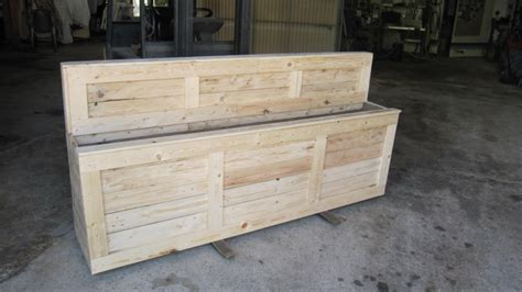 Wood Pallet Planter Box by Pallet Wooden Planter Box Pallet Ideas Recycled