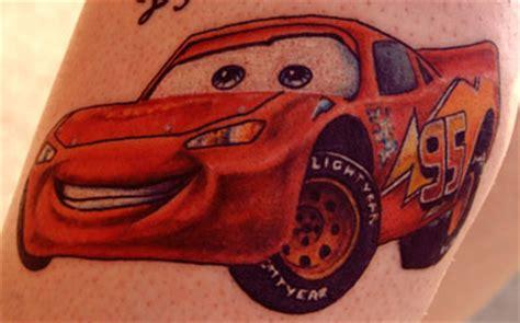 mcqueen tattoo pixar movie tattoos it s taturday smosh