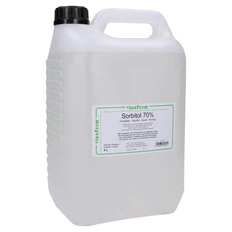 sorbitol liquid 70 vinoferm 5 litre 6 46 kg brouwland