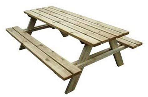 tavoli con panche tavolo con panche da pic nic in legno cm 200x148x70 h ebay