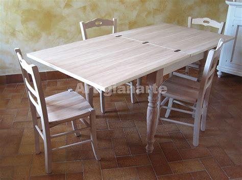 come costruire un tavolo allungabile stunning tavolo cucina legno grezzo contemporary ideas