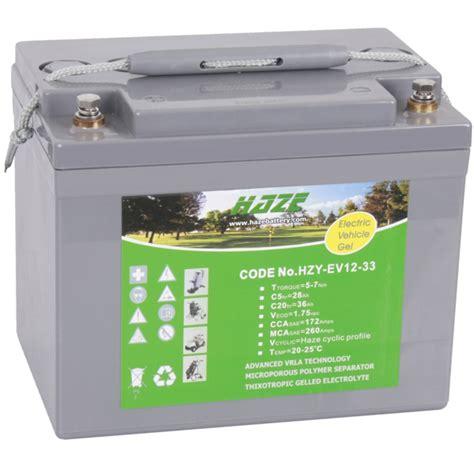 Motorrad Batterie 12v 36ah by Gel Batterie Haze Hzy Ev12 33 Ebay