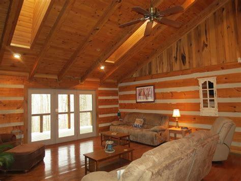 Log Cabin Ceilings by Lakeside Appalachian Log Home New Listing Vrbo