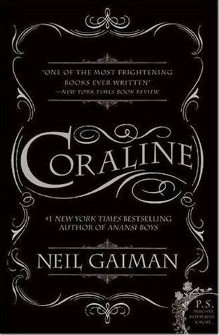 neil gaiman coraline reviews compare best horror books pink fluffy hearts diary of a coffee addict review coraline book vs movie