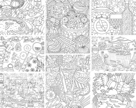 coloring pages for adults food food and drinks 10 coloring pages printable adult