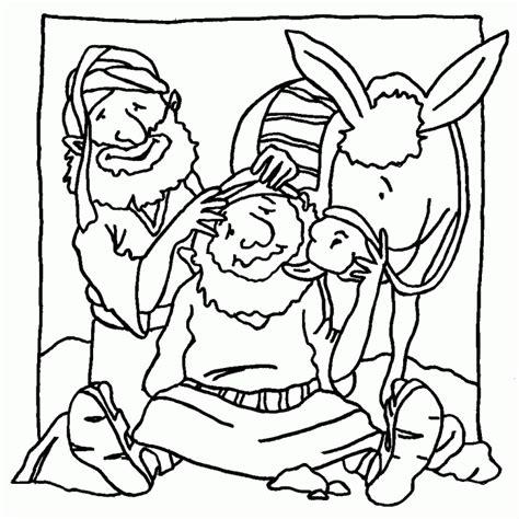 free coloring page of good samaritan good samaritan coloring pages for kids coloring home