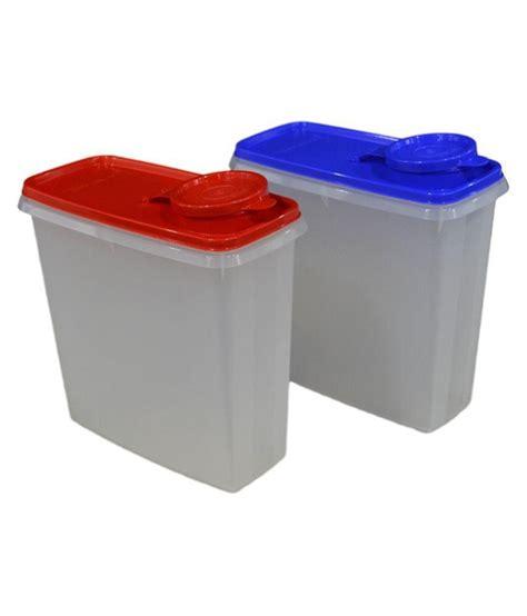 Tupperware Crispy Storer 1 tupperware tupperware cereal storer 2 8l set of 2 pet food container set of 2 buy at