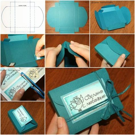 Handmade Gift Box Tutorial - how to make fancy gift boxes step by step diy tutorial