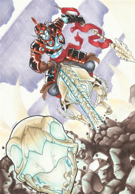 Kaos Dont See Monkey skylanders giants fright rider by mad project deviantart