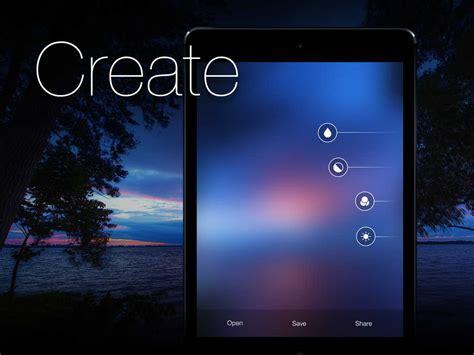 app shopper blurify create custom blurred ios  style