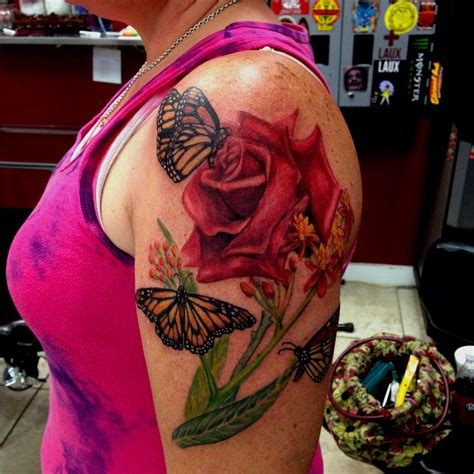 rose vein tattoo 77 best butterfly and flower tattoos images on