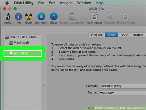 format hard disk steps how to format an external hard drive with pictures wikihow