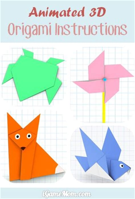 Animated Origami - origami 3d easy 28 images 3d origami dinosaur tutorial