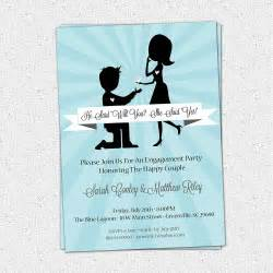free engagement invitation templates engagement invitations engagement invitation