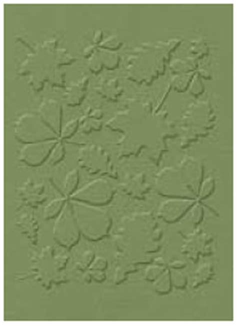 quickutz leaves embossing folders 2x2