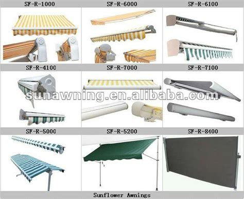 Retractable Awning Hardware by Retractable Awnings Parts View Aluminum Awning Parts