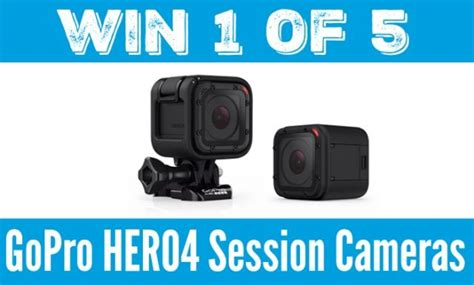 Gopro Giveaway 2016 - domestic dad gopro hero4 session camera giveaway