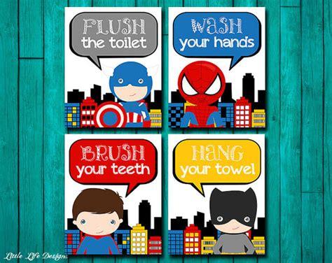 superhero bathroom ideas superhero bathroom wall art superhero bathroom decor